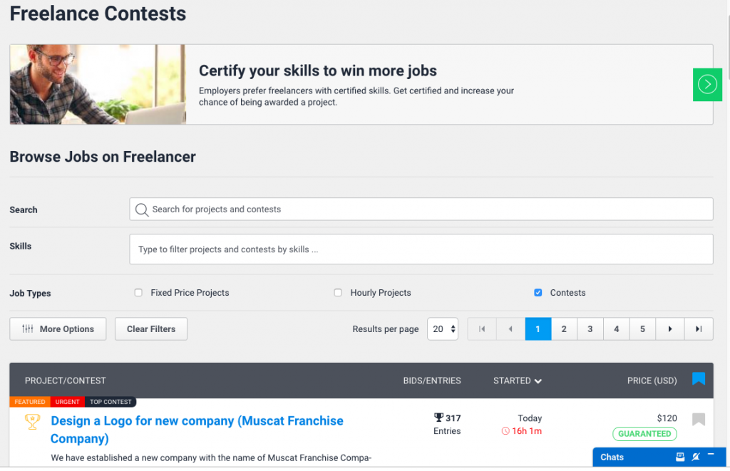 Contests on Freelancer.com