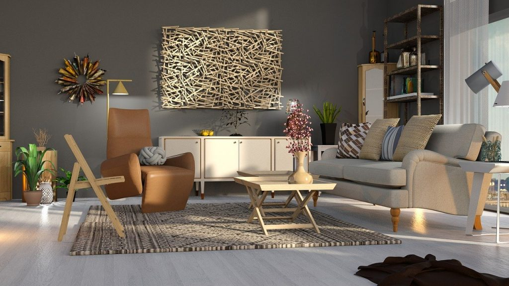 beige living-room